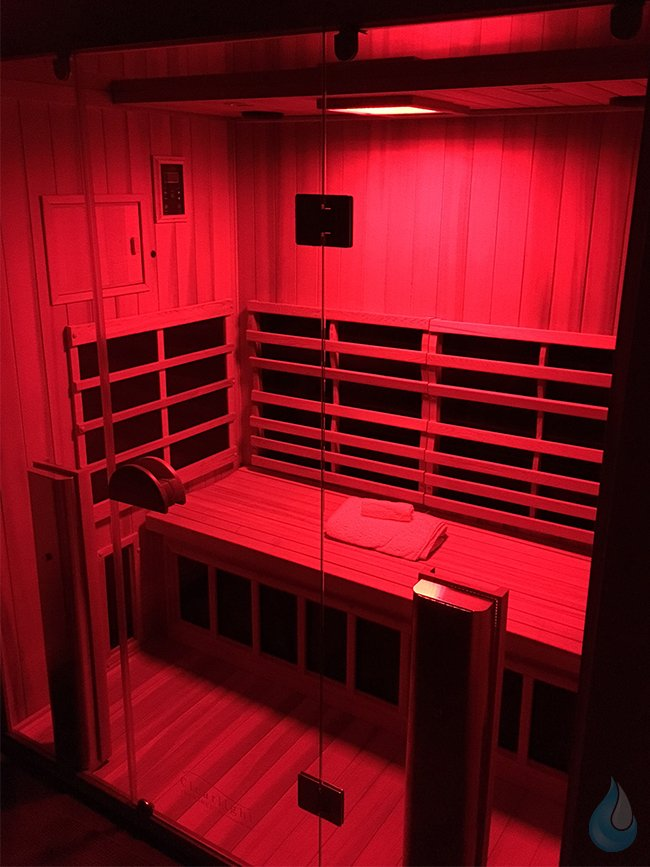 Chromotherapy Ifrared Sauna Red