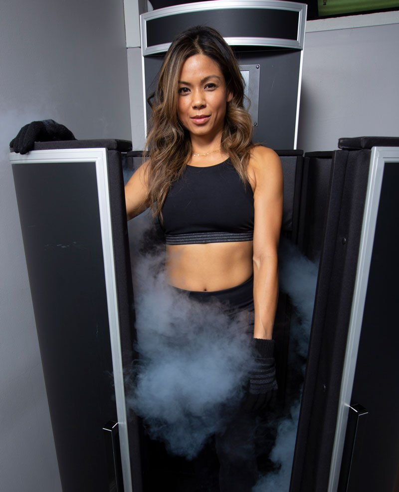 cryotherapy at purify sauna lounge