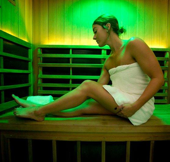 chromatherapy sauna